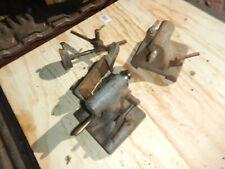 Older Sundstrand Tailstocks And Indicator Holder For Bench Center 78 196 No1mt