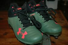 Under Armour Harper MCS Baseball Cleats 'Big Red One' Army Memorial Day NEW 12.5