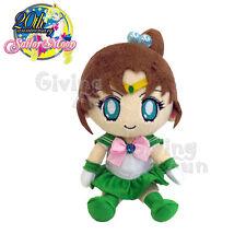 "GENUINE BANDAI Sailor Moon 20th Anniversary Sailor Jupiter 8"" Plush Doll Toy JP"