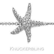 Genuine Diamond Bracelet 0.25ct Colour F Clarity VS 18ct White Gold Starfish