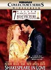 Shakespeare in Love (Dvd, Collectors Series)