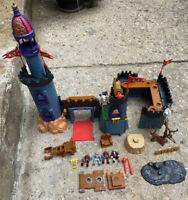 imaginext 2001 vintage Battle Castle Parts And Accessories Replacement Lot