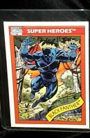 1990 Impel Marvel Universe Comics Card Rookie Series 1 Black Panther #20 Rare