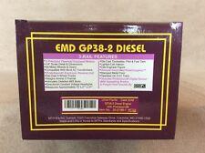 MTH  20-2188-1 EMD GP38-2 Union Pacific Diesel Locomotive with Proto Sound 1