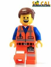The LEGO Movie 70814 Emmet Minifigure with two face