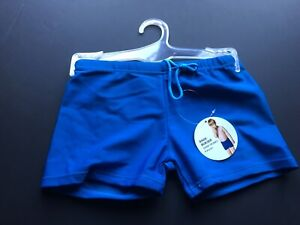 BNWT BOYS CHILDS TODDLERS SWIMMING SWIM TRUNKS SHORTS COSTUME PANTS BLUE AGE 4