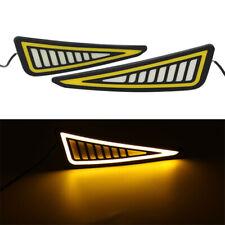 2PCS 12V DRL LED Car Daytime Running Light Driving Bulbs Turn Signal Fog Lamp
