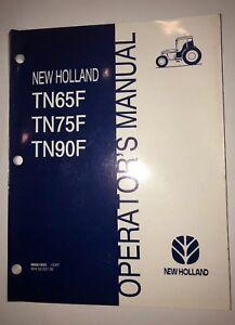 New Holland TN65F TN75F TN90F Operator Manual  86561625