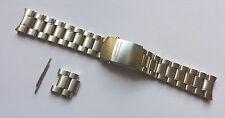 New original Omega Speedmaster Professional acero pulsera Bracelet 20mm 1998/849