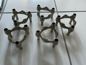 Nagel Quist Bmf Kerzenständer, 5 Stück, gebraucht, guter Zustand