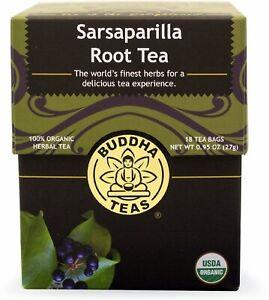 Sarsaparilla Root Tea by Buddha Teas, 18 tea bag 1 pack