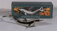 "Nib International Silver Company 6.5"" Dolphin Bottle Opener - Silver Plated"