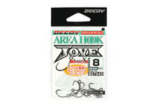 Decoy Ah-10 Jove Area Plugging Single Lure Hooks Size 8 (7543)