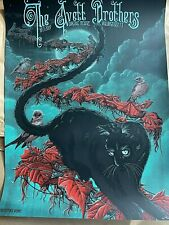 Avett Brothers Wallingford Ct Artist Edition Poster Print 2019 Signed S/N #/50