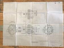 More details for de havilland aircraft blue print 1953 vardel pump dowty