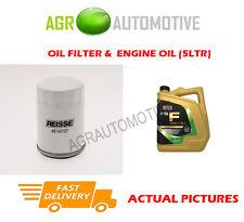 PETROL OIL FILTER + FS F 5W30 OIL FOR FORD FOCUS C-MAX 1.8 125BHP 2004-07