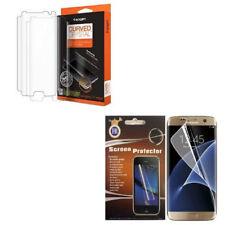 Premium Anti Shock Clear Full Screen Protector For Samsung Galaxy S7 Edge