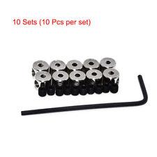 100pcs Pin Keepers Pin Badge Locks Locking Pin Backs Savers Holder Fastener
