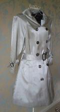Women's Stylish Silver Grey Mac Raincoat from Next  (Bust 104cm, 41 inches) BNWT