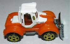 New Loose Matchbox 2007 Tractor Plow Orange & White Lil' Mule
