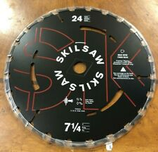 New Skilsaw 7-1/4-in 24-Tooth Circular Saw Blade Frame Carbide 75924