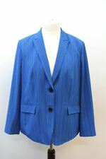 GERRY WEBER COLLECTION Ladies Cobalt Blue Striped Blazer Jacket UK18 EU46 BNWT