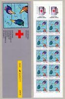 TIMBRES DE FRANCE CARNET CROIX ROUGE ANNEE 1992 YV N° 2041 ** NON PLIE