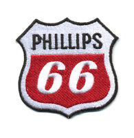phillips 66 patch badge motor oil motorcycle hot rod service station gasoline