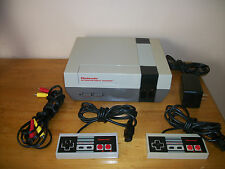 Nintendo Nes Entertainment System New 72 Pin 6 Games Contra & Super Contra