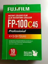 Fuji Fujifilm FP-100C45 4x5 Instant Color Film. New. Exp 2010-01