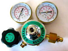 "Oxygen Premium Regulator, 3"" Gauges for torch Welding, Brazing, Cutting, Medical"