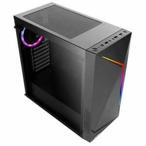 Antec NX300BLACK Nx Series Nx300 Black, Mid-tower Atx Gaming Case, Tempered