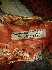Vintage 1940's Hand Painted Tie by Merle Bonaire