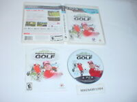 JOHN DALY'S PROSTROKE GOLF game complete in case w/ manual - Playstation 3 PS3