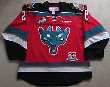 Kelowna Rockets Third Style 25th Patch Joe Gatenby Game Used Worn Hockey Jersey