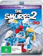 The Smurfs 2 in 2d & 3d Blu-ray Region B