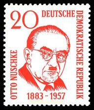 EBS East Germany DDR 1958 - Otto Nuschke - Michel 671 CTO