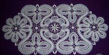 Pattern Bobbin Lace Pattern to making Lace Oval Doily Russian style
