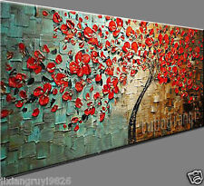 oil painting Abstract Modern Art Canvas New Manual Wall Parlor Bedroom 48x24inch
