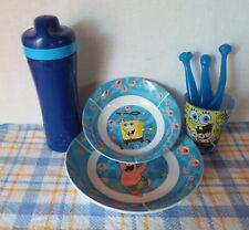 Spongebob Schwammkopf Kindergeschirr Set 7-tlg. Teller Becher Schüssel usw.