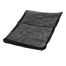 Mesh/Net Zipper Bag for pond filtration media-Black 310mmx370mm + FREE SHIPPING