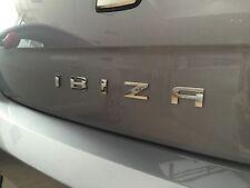 Seat IBIZA Schriftzug Chrom Logo Emblem Original Heck Zeichen badge