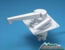 J&C Dual Action RV Pop Up Fold Down Camper Water Pump Colonial White DS-3700B