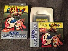 Ren And Stimpy, Quest For The Shaven Yak Game Gear Game! Complete!
