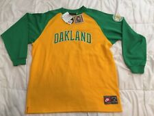 Oakland A's Reggie Jackson Long Sleeve Jersey XXL Nike Cooperstown Collection