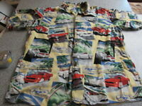 Vtg Reyn Spooner Mens XL Mustang Hawaiian Shirt Shelby Cobra American Classic