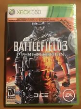 🔫Brand New!! Battlefield 3: Premium Edition (Xbox 360, 2012) Factory Sealed!!🔫