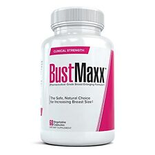 Breast Enlargement Pills All Natural Boob Enhancement a Fuller Bust 60 Capsules