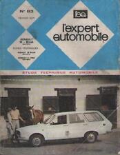 Revue Expert Automobile RENAULT 12 Break - RENAULT 6 - 1100 - No 63 Février 1971