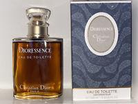 Dioressence Perfume•EDT Spray•Christian Dior•3.4oz/100ml LARGE SZ•PREOWNED/FULL!